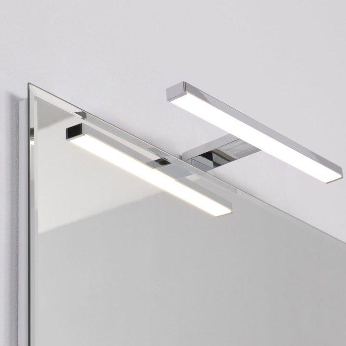 Настенное зеркало Wood 70х90 с подсветкой