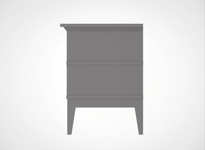 Тумба прикроватная Manhattan цвета французский серый