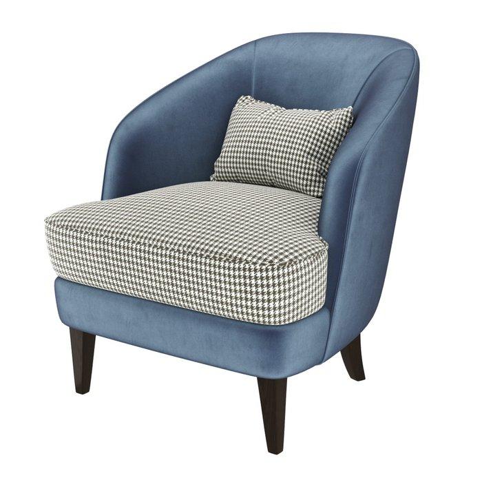 Кресло Ruta синего цвета