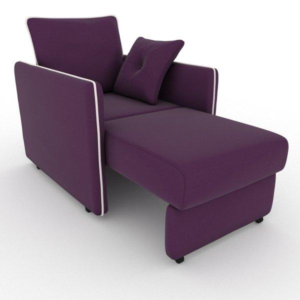 Кресло-кровать Cardinal фиолетового цвета