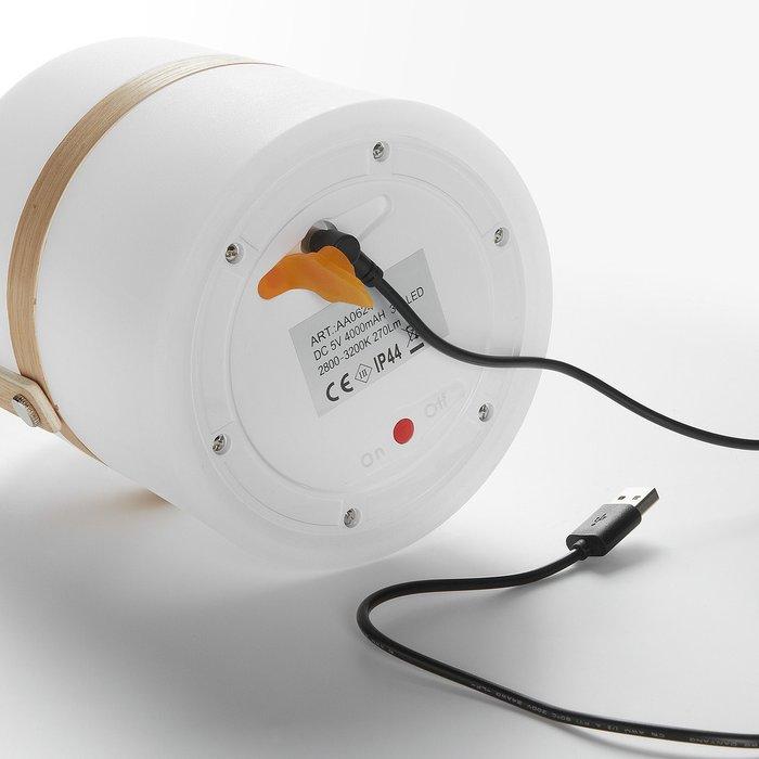 Настольная лампа Janvir белого цвета