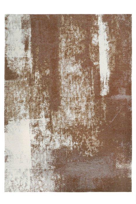 Ковер Rust Сopper 160х230 бело-коричневого цвета