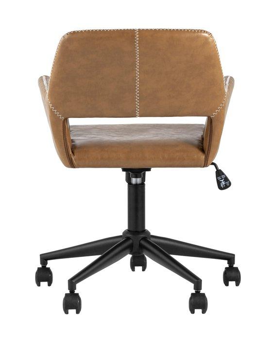 Кресло офисное Филиус коричневого цвета