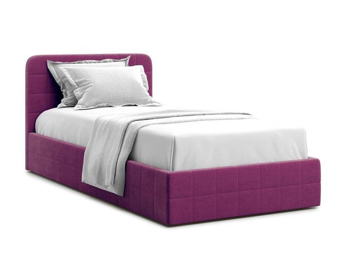 Кровать с подъемным механизмом Adda 90х200 фиолетового цвета