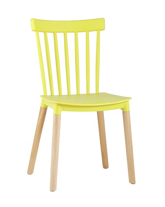 Стул Field желтого цвета