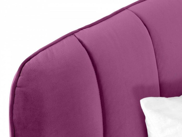 Кровать Amsterdam 160х200 фиолетового цвета
