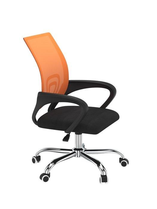 Офисное кресло Staff orange оранжевого цвета