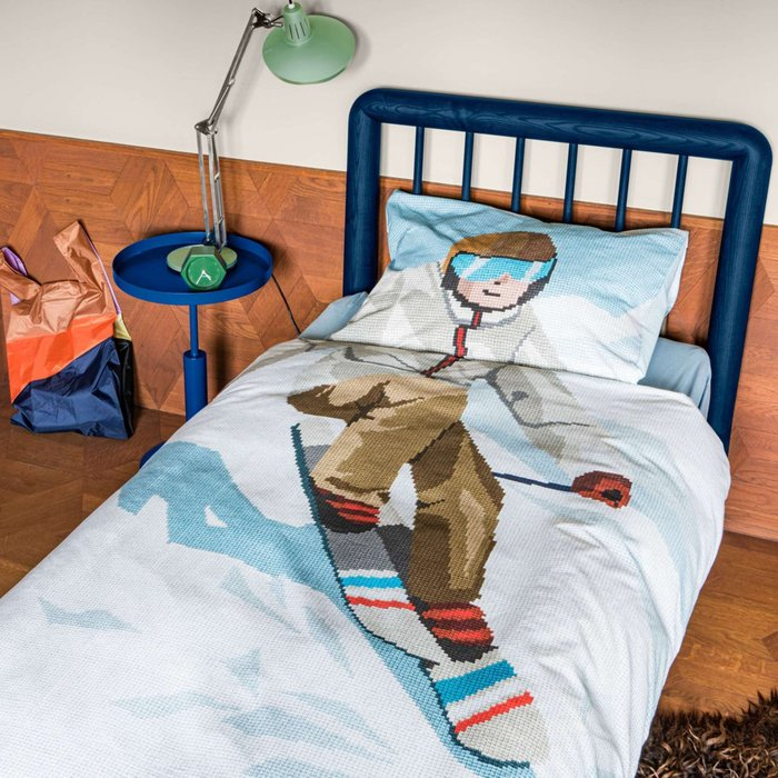 Комплект постельного белья Лыжник 150х200