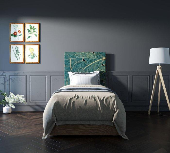 Кровать Berber 90х200 бежево-зеленого цвета