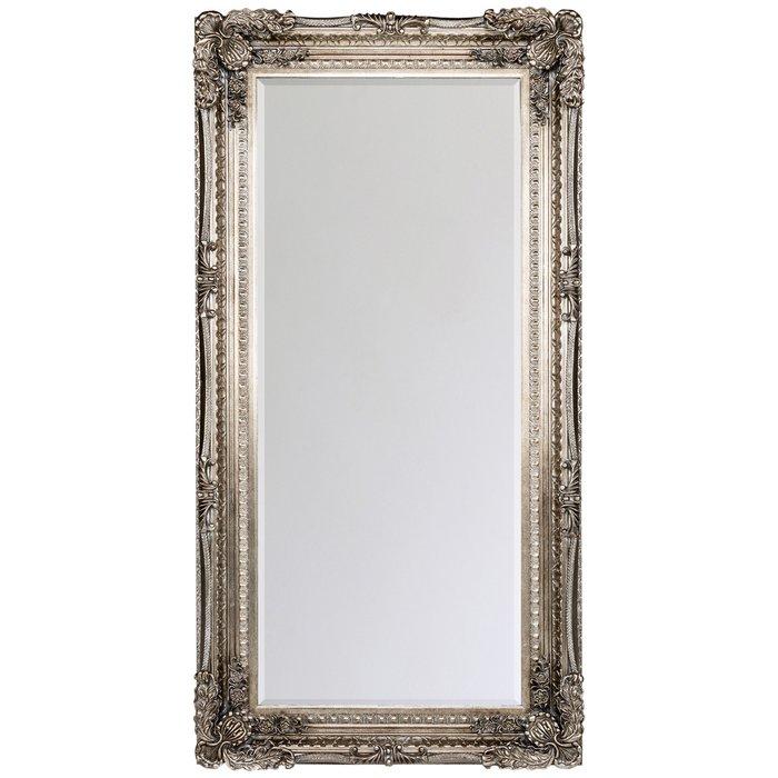 Настенное зеркало Маркиза цвета состаренной темной бронзы