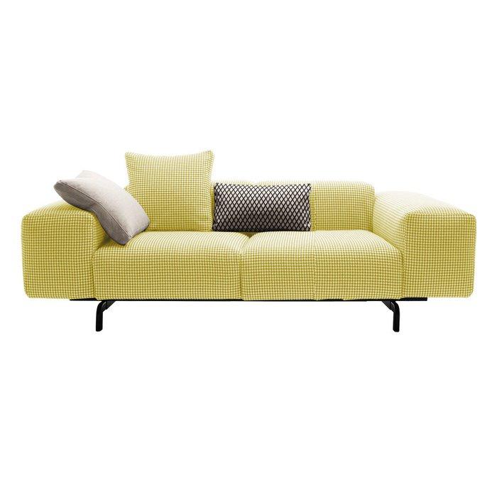 Диван двухместный Largo желтого цвета
