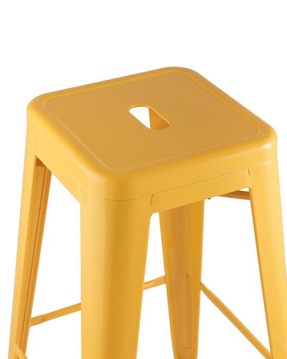 Барный табурет Tolix желтого цвета
