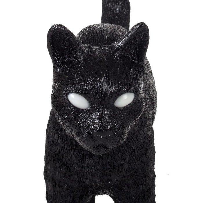 Настольная лампа Jobby Black черного цвета