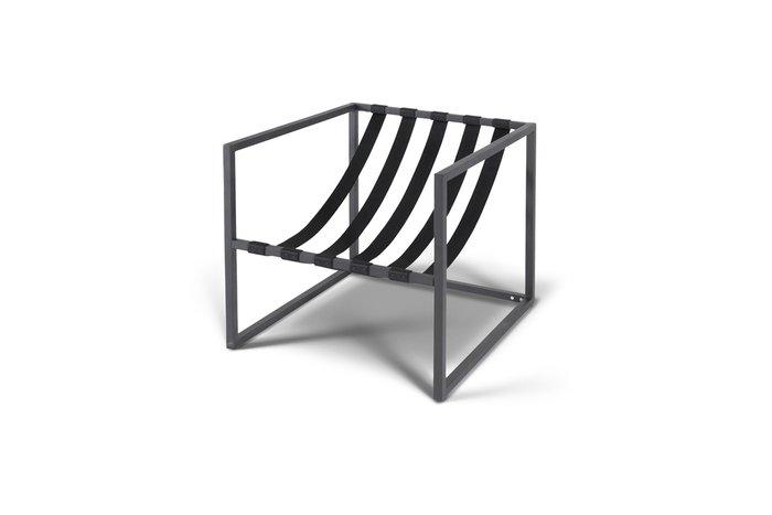 Кресло Лион черного цвета