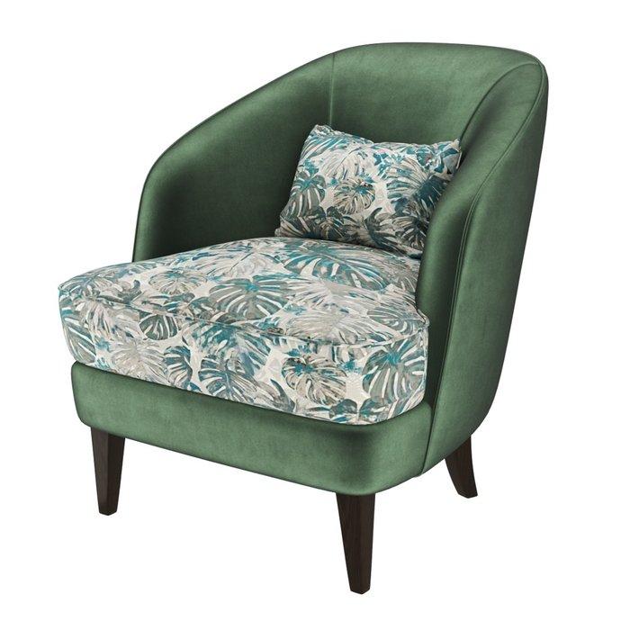 Кресло Ruta зеленого цвета