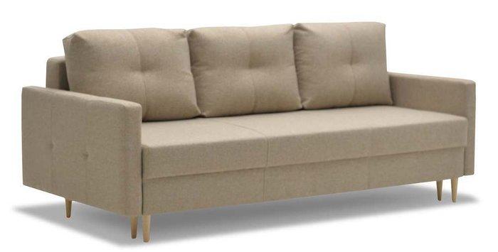 Диван-кровать Ирсен бежевого цвета