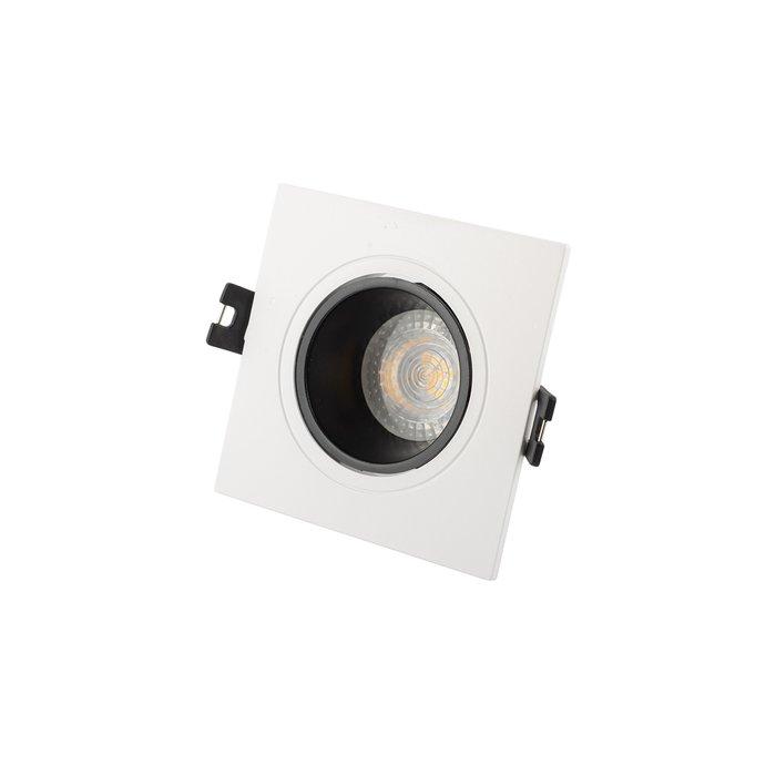 Точечный встраиваемый светильник из термопластика