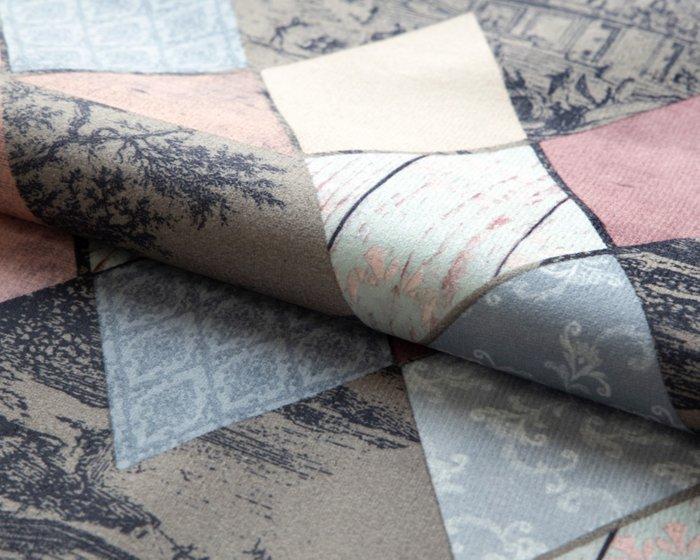 Покрывало Uno Incanto 140x210 с серо-розовым узором