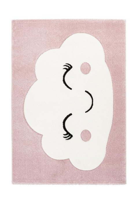 Детский ковер Amigo Cloudy Pink розового цвета 120х170