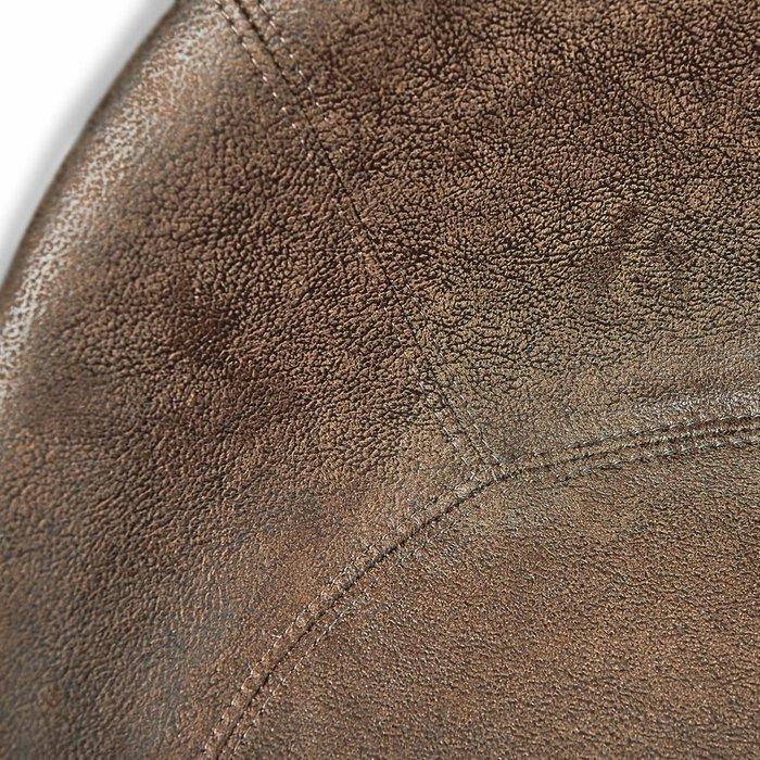 Стул барный Mirach коричневого цвета на металлических ножках