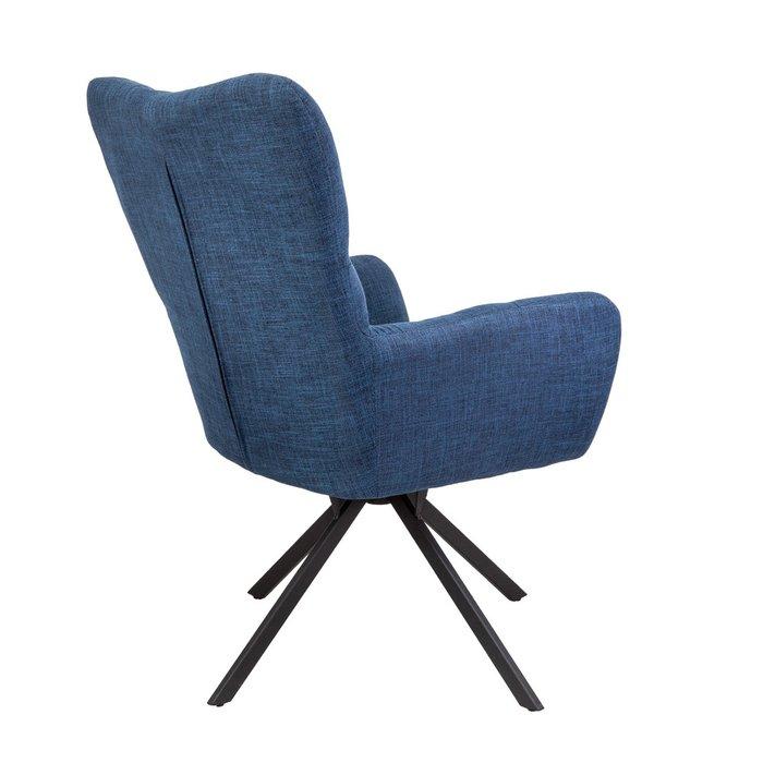 Поворотное кресло Colorado темно-синего цвета
