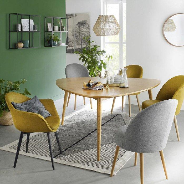 Комплект из двух стульев Quilda серого цвета