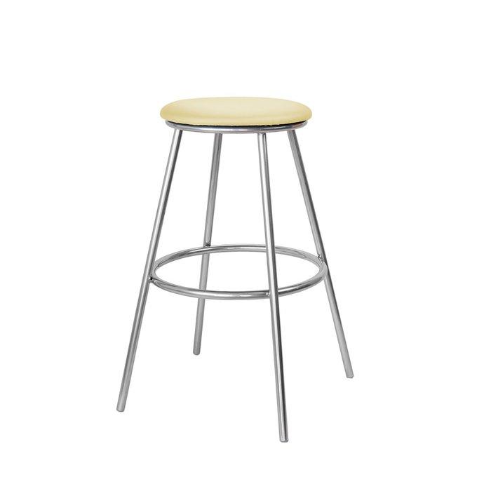 Барный стул Топ №5 бежевого цвета