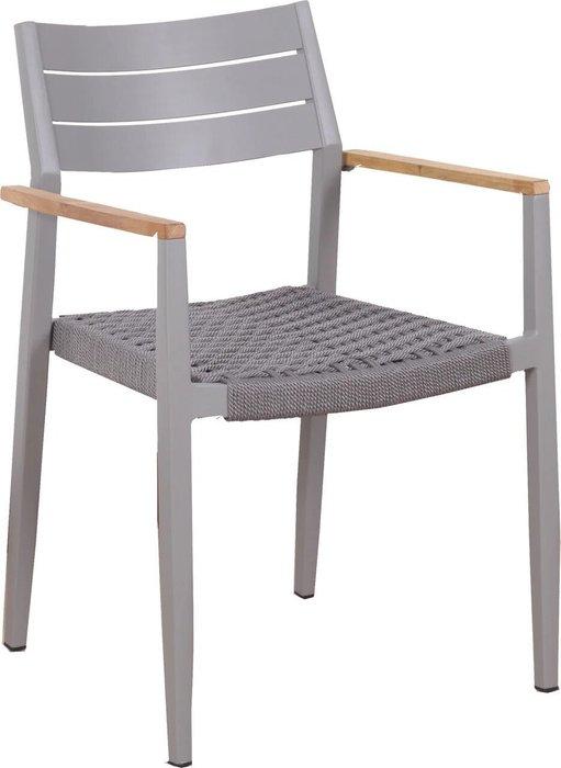 Кресло садовое Toronto серого цвета