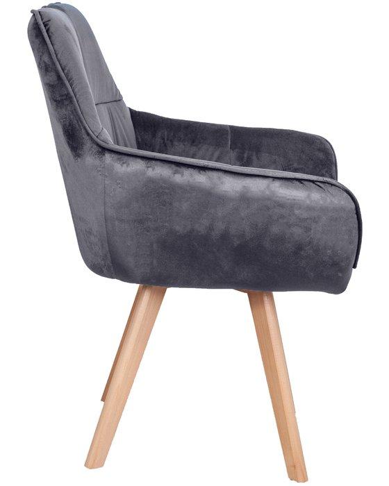 Кресло Soft темно-серого цвета