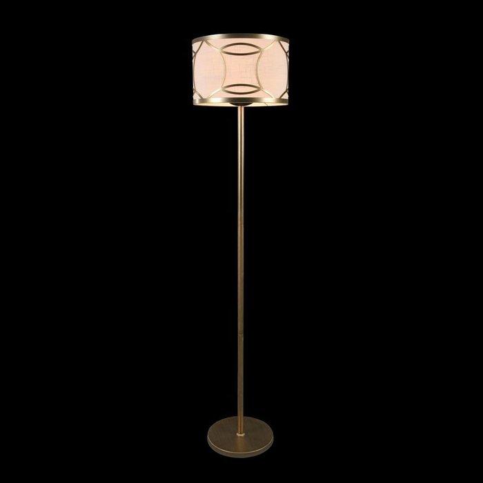 Торшер Fibi с кремовым абажуром