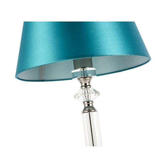 Настольная лампа Viore зеленого цвета