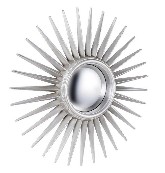 Настенное Зеркало-солнце Star Silver