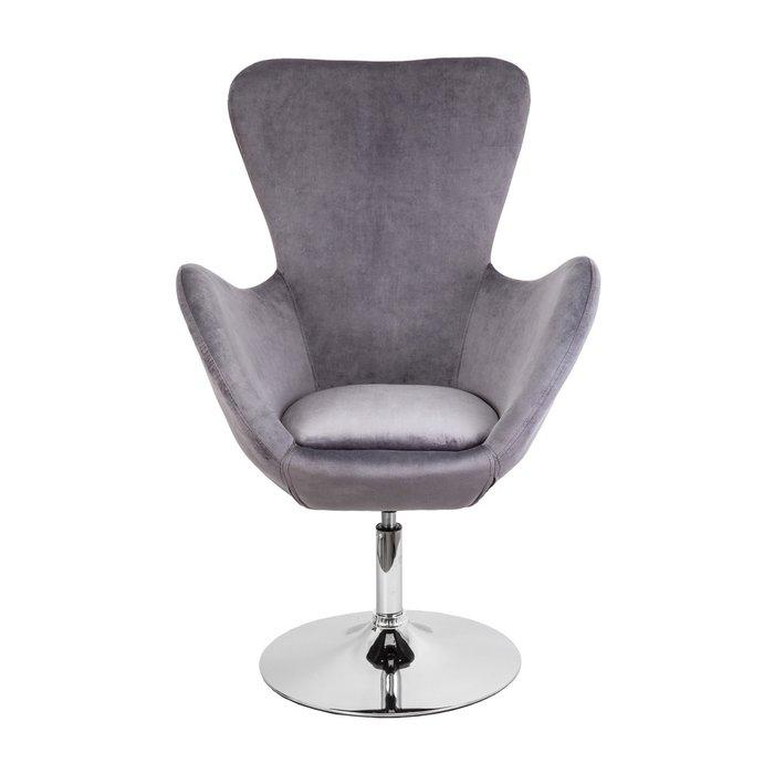 Кресло поворотное Sydney темно-серого цвета