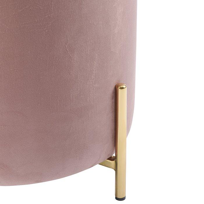 Пуф Jerome розового цвета