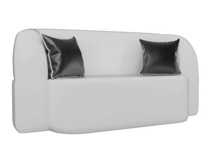 Диван-кровать Томас белого цвета (экокожа)