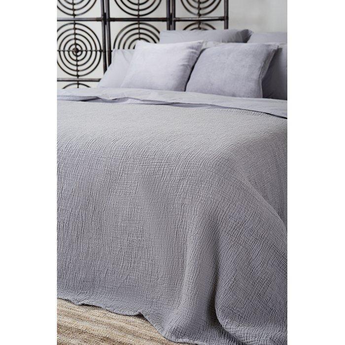 Покрывало Essential 180х240 серого цвета