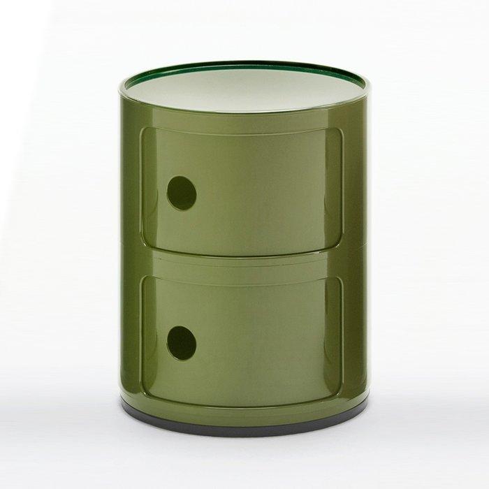 Тумба Componibili Green зеленого цвета