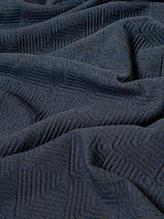 Набор из двух наволочек Adriana blue синего цвета