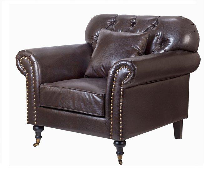 Классические кресла Kavita brown коричневого цвета