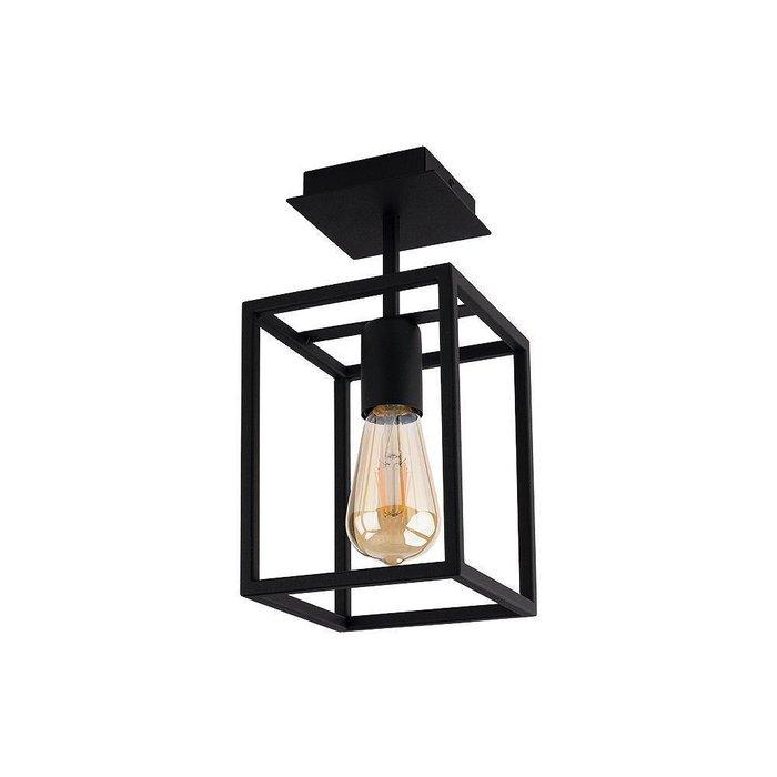 Потолочный светильник Crate черного цвета