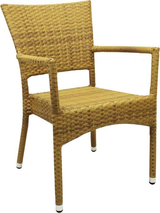 Кресло садовое Rum цвета табак