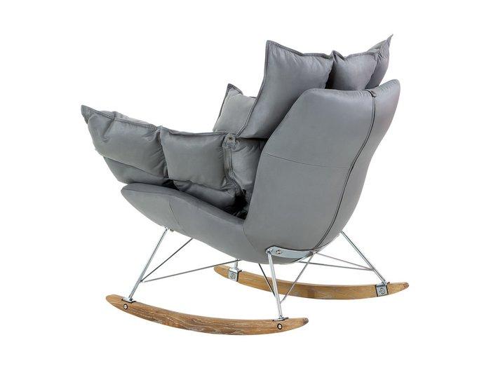 Кресло-качалка Ariella серого цвета