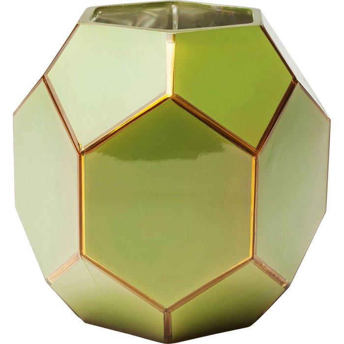 Ваза Art Pastel зеленого цвета