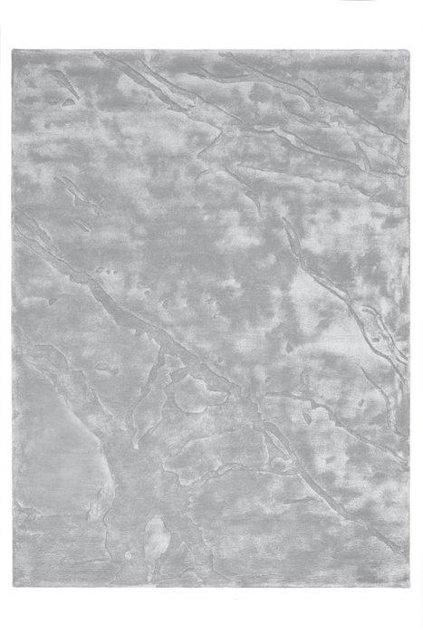 Ковер Calcatta Silver серебристого цвета