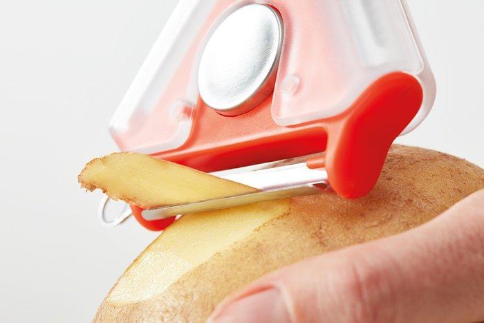 Овощечистка tri-peeler из пластика и стали