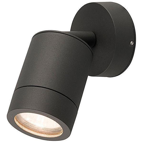 Уличный настенный светильник Fallon черного цвета