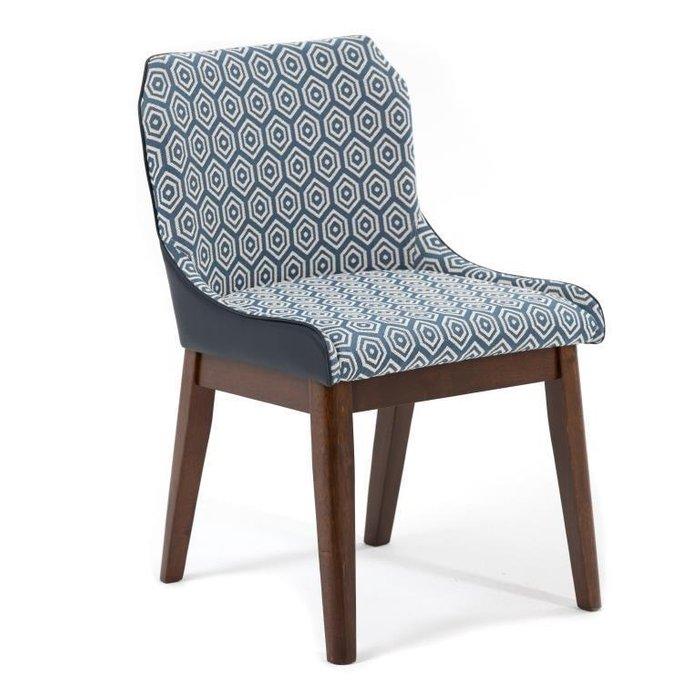 Кресло Rebak синего цвета