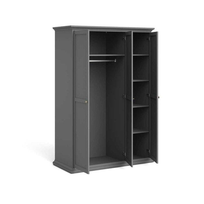 Шкаф Paris серого цвета