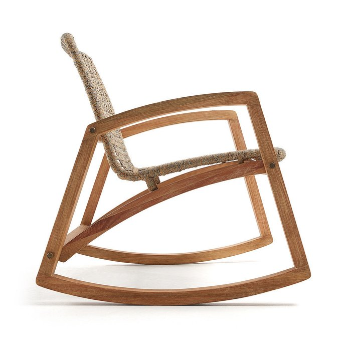 Кресло-качалка Taniska из массива дерева акация