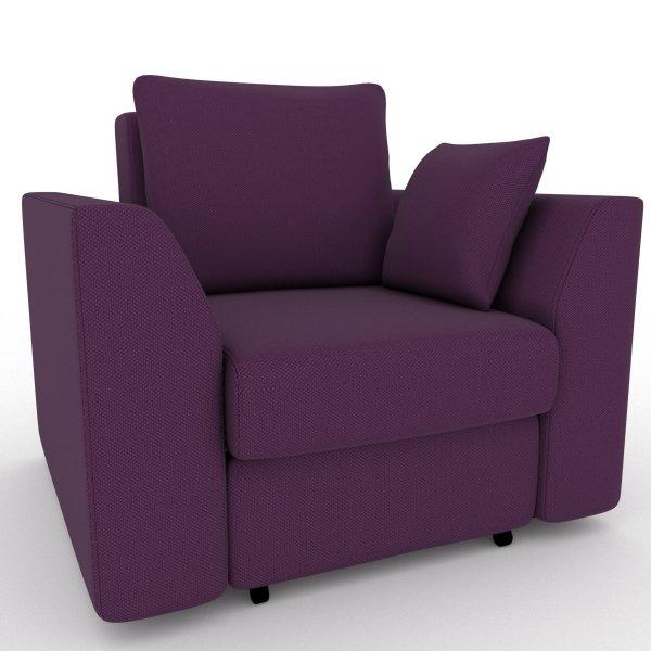 Кресло-кровать Belfest фиолетового цвета